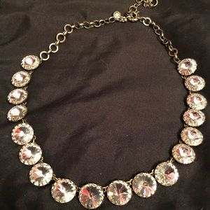 JCrew crystal Stone statement necklace
